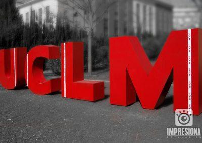 UCLM Letra corporativa gran formato
