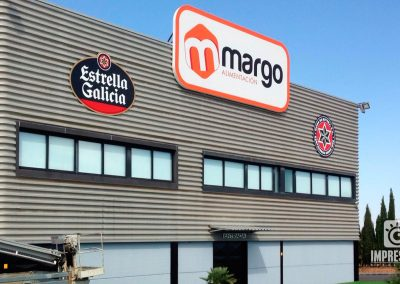 MARGO | Cajones de lona retroiluminada