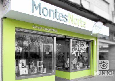 MONTES NORTE | Cajón de composite con luz de cortesía
